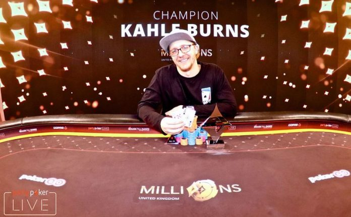 Kahle Burns wins partypoker MILLIONS