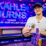 Kahle Burns wins Poker Masters Event