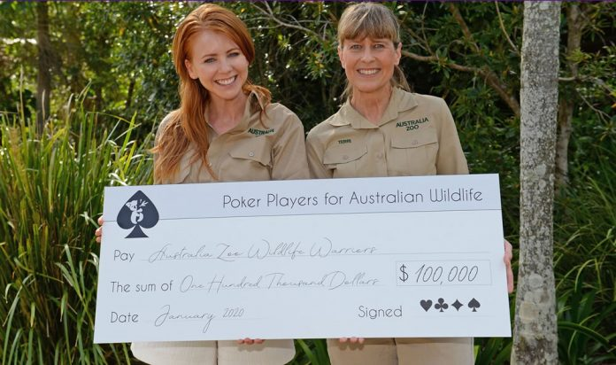 Lynn Gilmartin Donation to Wildlife Warriors