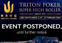 Triton Poker Series Postponed