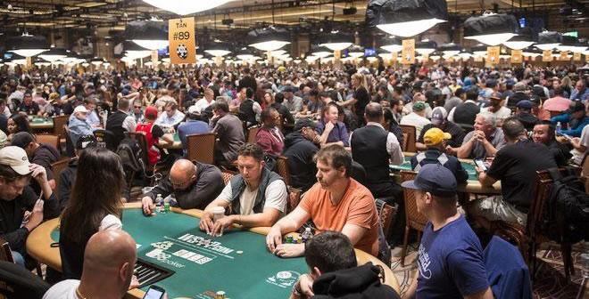 WSOP tables