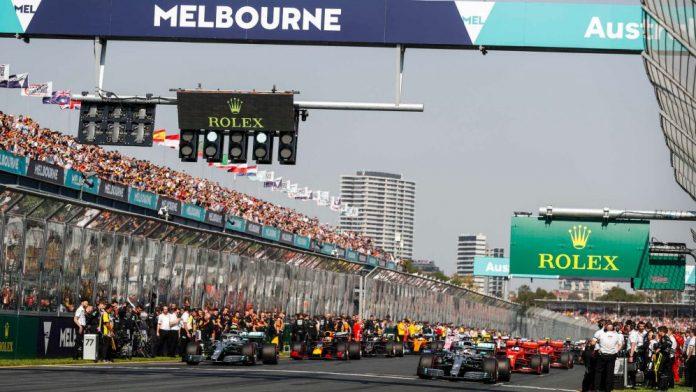 australian grand prix f1