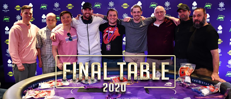 2020 APL Million Final Table