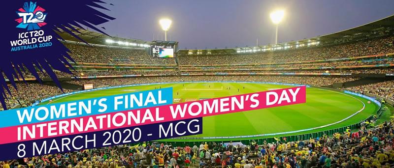 Women's T20 Cricket World Cup MCG